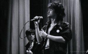 Viktor Zoj, der Sänger der Band Kino
